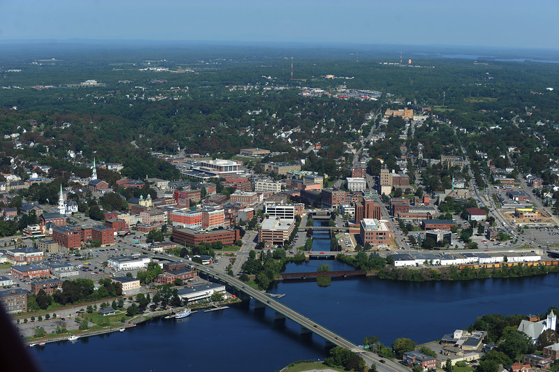 Downtown Bangor. Image made on Friday, September 4, 2009. (Bangor Daily News/Kevin Bennett)