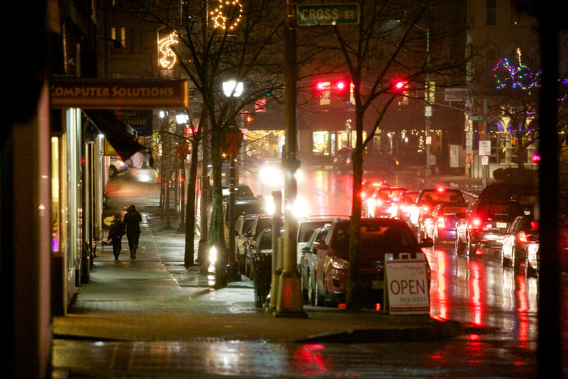BANGOR, MAINE -- 12/18/2012 -- Bangor is one of three metropolitan areas in the state of Maine. Bangor Daily News Photo by Brian Feulner
