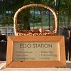 Egg station at breakfast at the Banyan Resort, Hua Hin, Thailand in August 2017