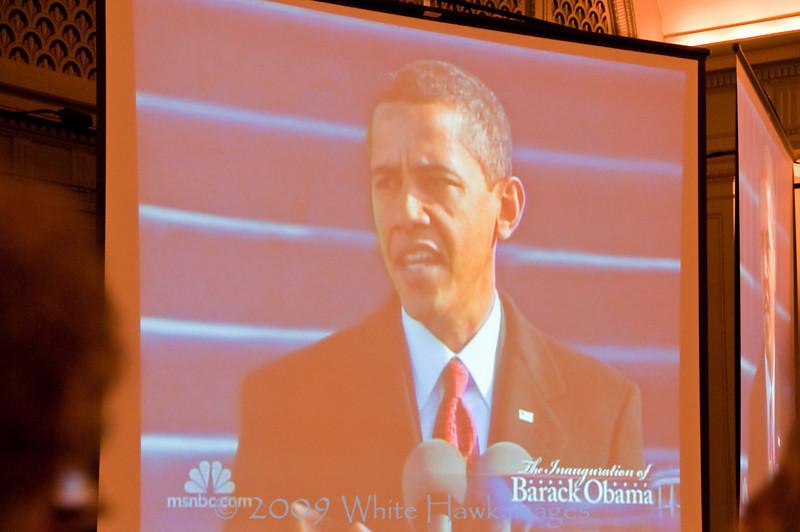 2009, inauguration, Barack Obama, Seattle, town hall