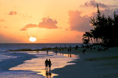 Bajan Sunset     0654