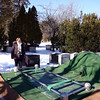 "Francine at Mount Pleasant cemetery for the interment (no ""n"" before ""m"") on Monday, February 13 at 11:00 a.m."