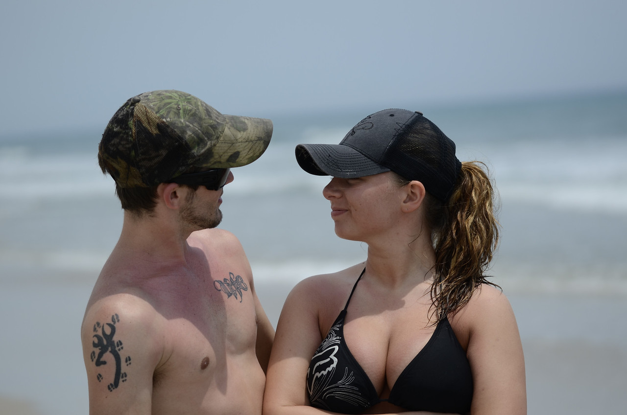 barbee family at beach 052013
