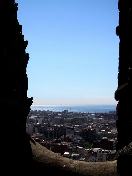 Barcelona, as seen from Sagrada Familia