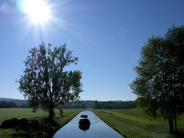 Barging in Bourgogne, September 2006