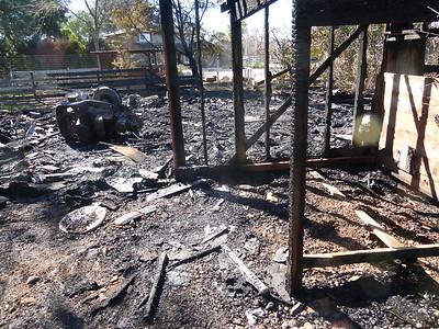 Barn Fire Feb 2015 8