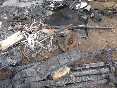 Barn Fire Feb 2015 12