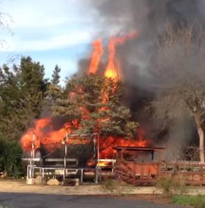 Barn Fire Feb 2015 1