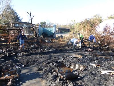 Barn Fire Feb 2015 24