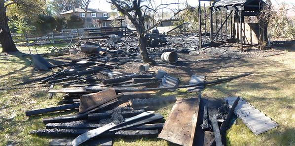 Barn Fire Feb 2015 6