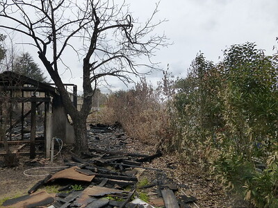Barn Fire Feb 2015 16