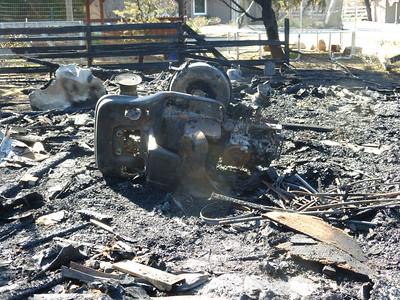 Barn Fire Feb 2015 10