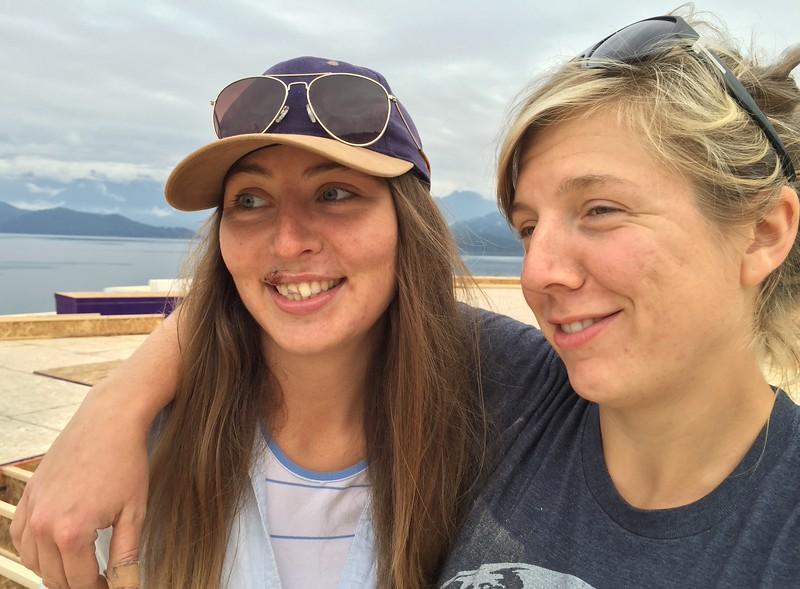 Hannah and Kim