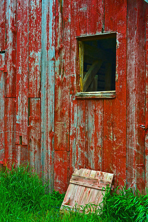 Allee House Barn Window