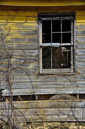 Farm Building Window