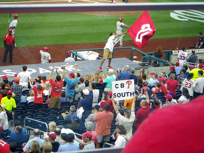 Of course, there is no stopping the Phillies fans :-D