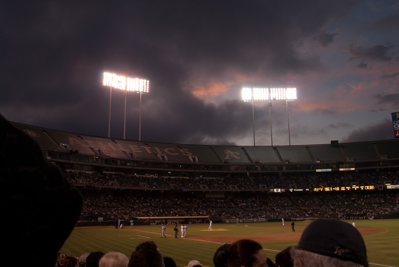 Oakland A's Night