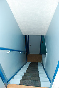 Stairway from the top.