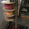Warwick Thumb bass on the shipping scale.  9.7 lbs  =  9 lbs 11 oz