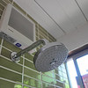fan and shower head