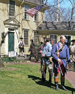 Minutemen Mustering At Buckmans Tavern
