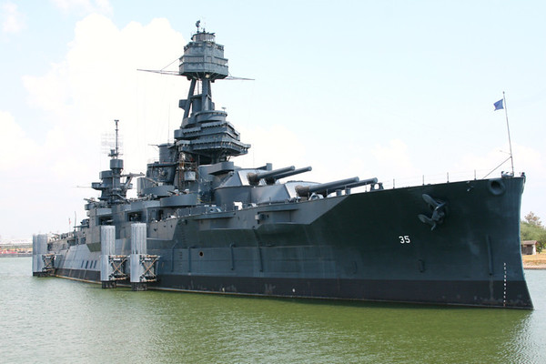 Battle Ship Texas