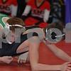 2012 Battle of Waterloo Pool C Championship Dual LinnMar 42- Osage 15 -  <br /> 113 - Chris Hanke (Osage) over John Clymer (Linn-Mar) Dec 5-0
