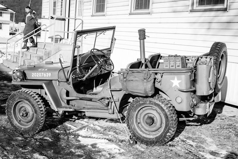 WW2 Jeeps