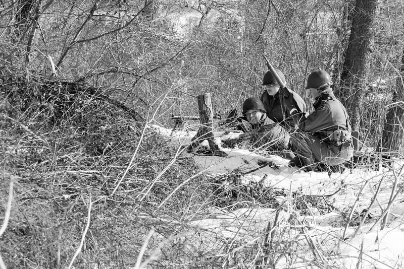 .50 cal machine gun crew