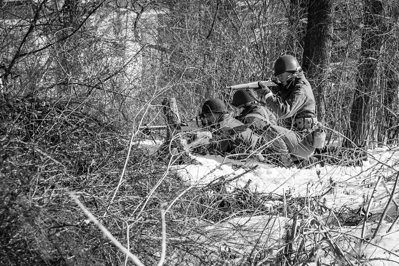 Machine gun crew