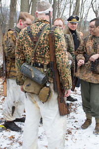Taken at the reenactment of the Battle of the Bulge from World War II. The location was at Fort Indiantown Gap, Annville, Pennsylvania.