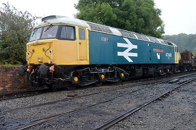 Class 47 47640 'University of Strathclyde'  25/08/14.