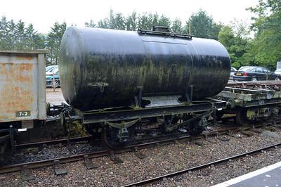 20t Bitumen Tank PO 6694 at Market Bosworth Station 25/08/14.