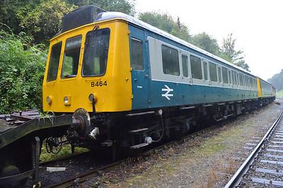 Class 118 DMU B464_W51321  25/08/14.