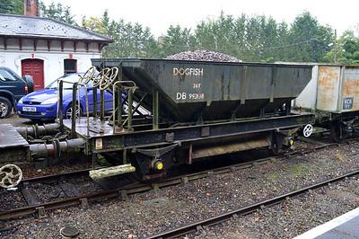 24t Dogfish DB993138 at Market Bosworth Station 25/08/14.