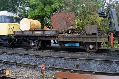 22t Steel Plate Wagon KDB936443  25/08/14.