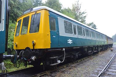 Class 122 DMU 55005  25/08/14.