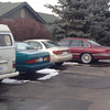 """Gabe's """"new"""" Crown Victoria. 12/12/13. (Originally his grandmother's car. Then his cousin Michelle's car. Now his.)"""