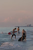 Skimboarders at Dusk (Indian Rocks Beach)