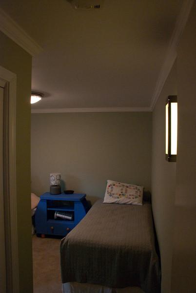 New twin bedroom.