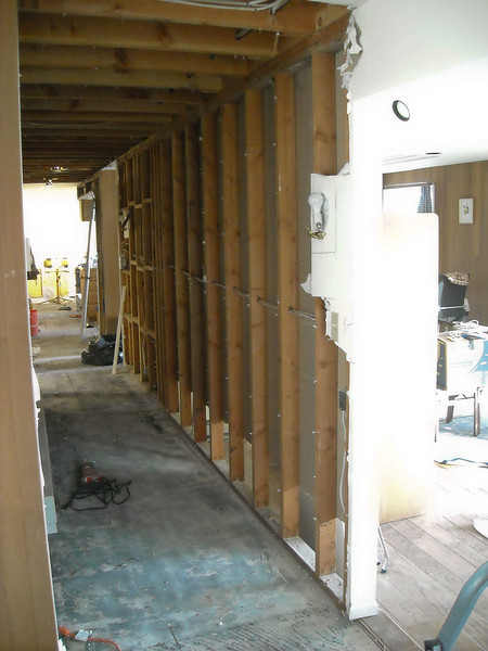 Another view of the hallway.