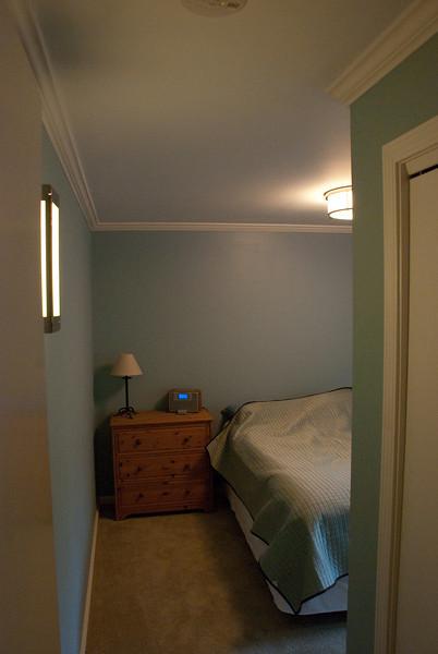 New queen bedroom.