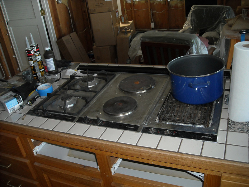 I'm not going to miss that cooktop.
