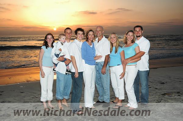 Del Mar Powerhouse Beach portrait photo sunset session.