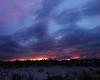 Vibrant Sunset over Ocean City NJ.