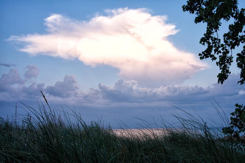 Gilson Beach cloud 1