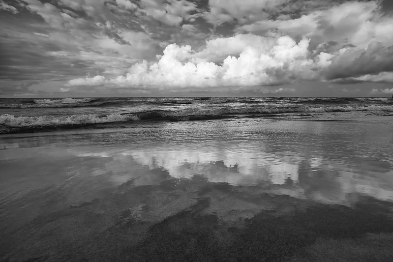 Gilson Beach reflections
