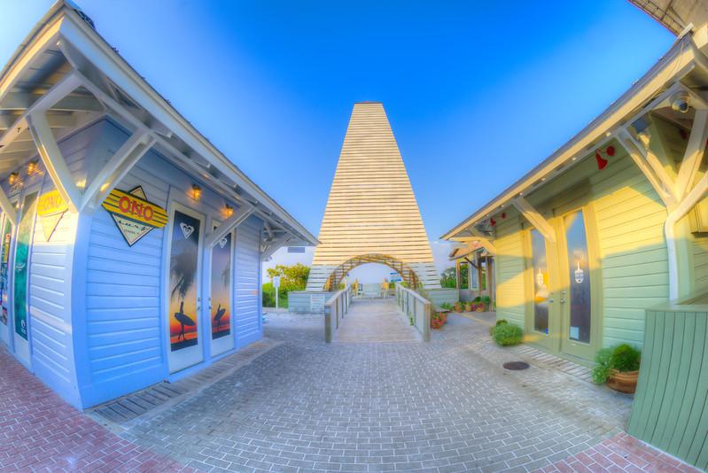 Obe Pavilion at Seaside FL.