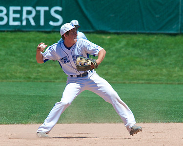 Skip Traynor - Special to the Sun Beal City is the MHSAA Division 4 Baseball runner-up after their loss to New Lothrup in the championship game at Michigan State University Kobs Field Saturday, June 14, 2014.