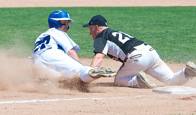 Special to the Sun Beal City is the MHSAA Division 4 Baseball runner-up after their loss to New Lothrup in the championship game at Michigan State University Kobs Field Saturday, June 14, 2014.